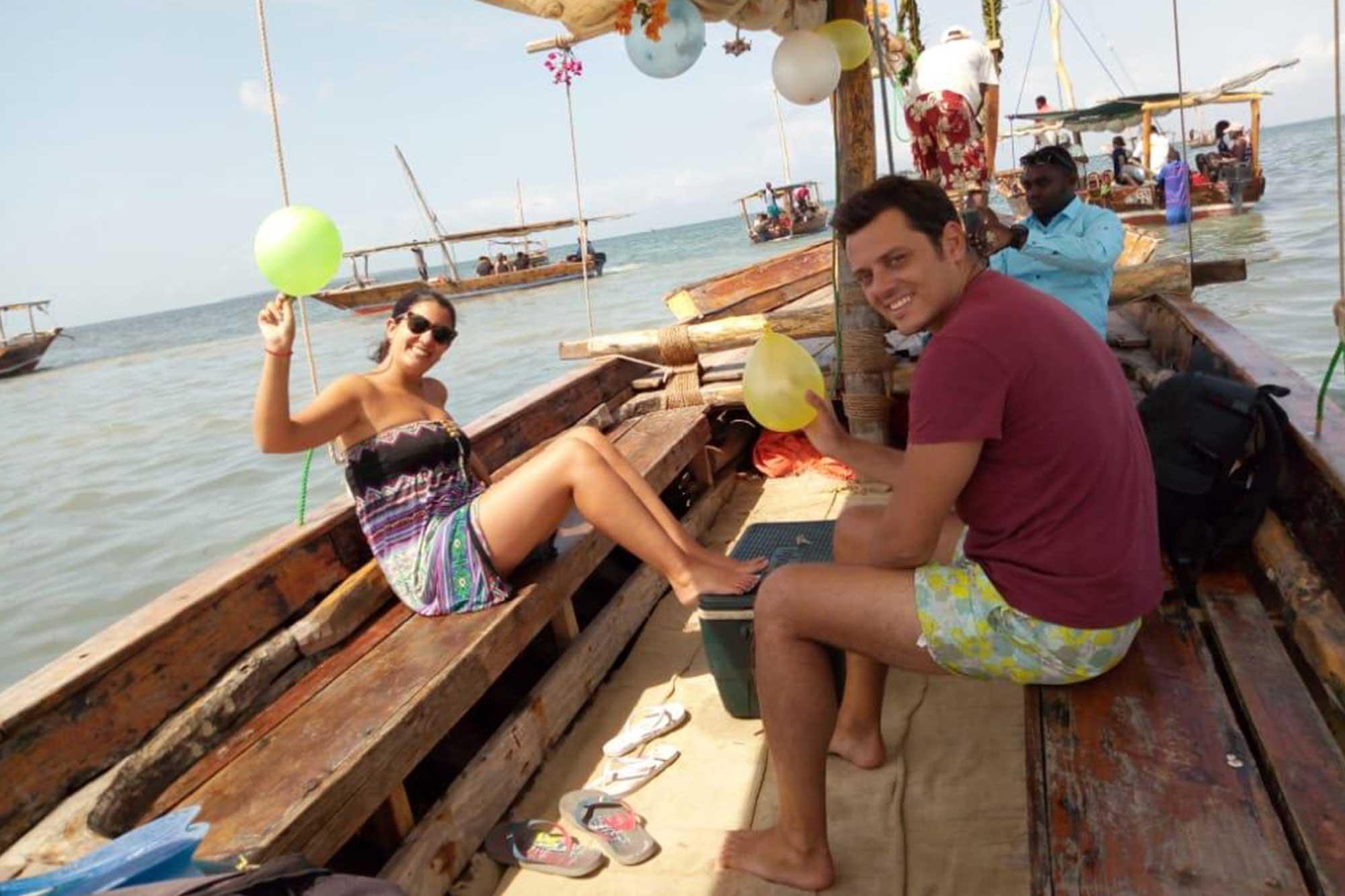 Catamaran Trips in Zanzibar
