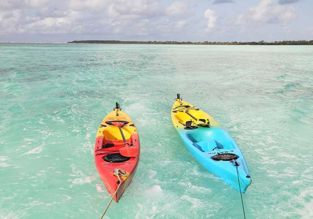 KAYAK ADVENTURE IN PEMBA ISLAND